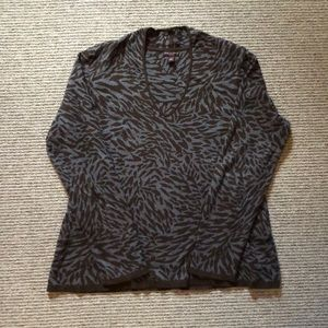 Dana Buchman animal print sweater. Women's large.